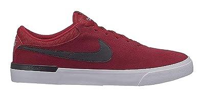 finest selection ee4ea d5b8e Nike SB Koston Hypervulc, Sneakers Basses Homme, Multicolore (Red Crush Black  White