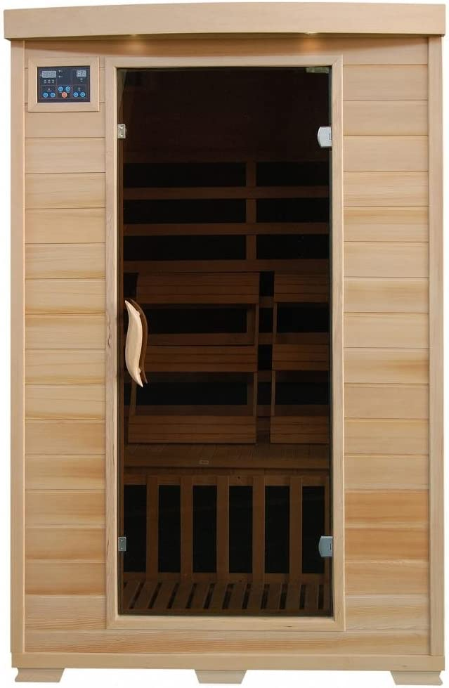 Best sauna for home use: Coronado SA2409 Tempered Chemotherapy Infrared Sauna