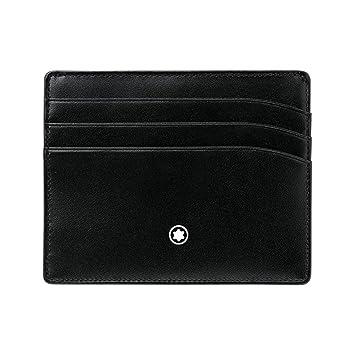 Mont Blanc MB106653 Porte carte de crédit à 6 compartiments 8Ngaqu