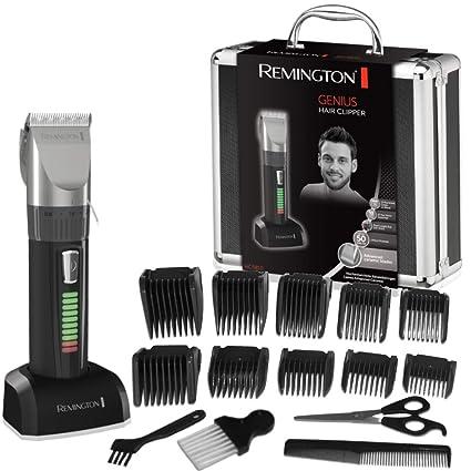 Remington Coffret Cheveux Tondeuse Cheveux Homme 10 Sabots Lames Auto Affûtées Céramique Avancée Moteur Pro Puissant Charge Rapide Autonomie