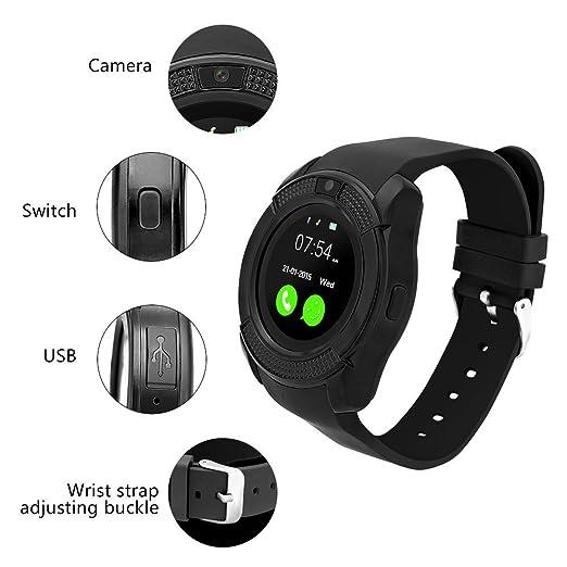 IWO dz09 Bluetooth Smart Watch with SIM Card Slot Make Phone Calls ...