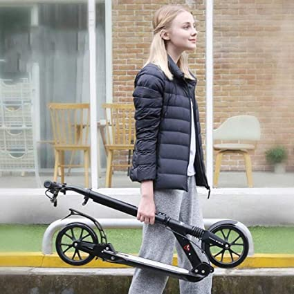 Amazon.com: LJHBC - Patinete de ruedas para adultos, altura ...