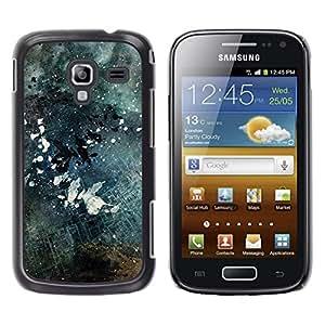 EJOY---Cubierta de la caja de protección la piel dura para el / Samsung Galaxy Ace 2 / --Negro y blanco Grunge