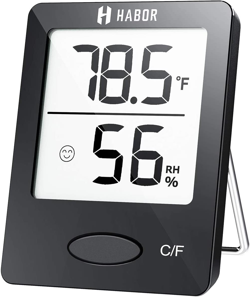 Habor Indoor Digital Hygrometer Thermometer