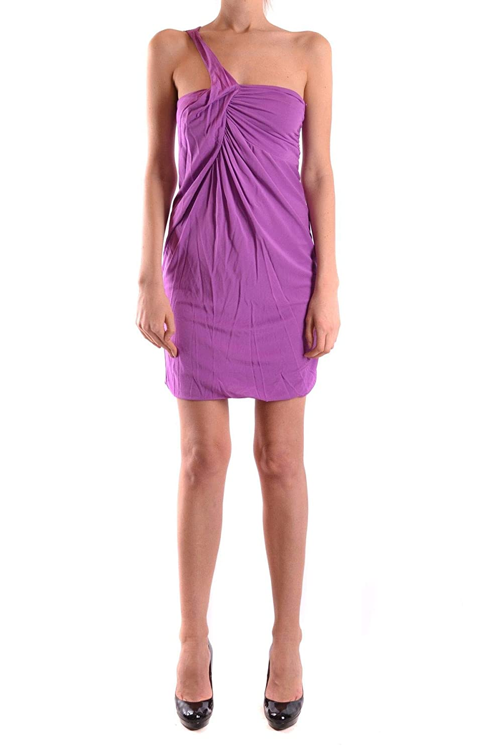 Pinko Women's MCBI22446 Purple Viscose Dress