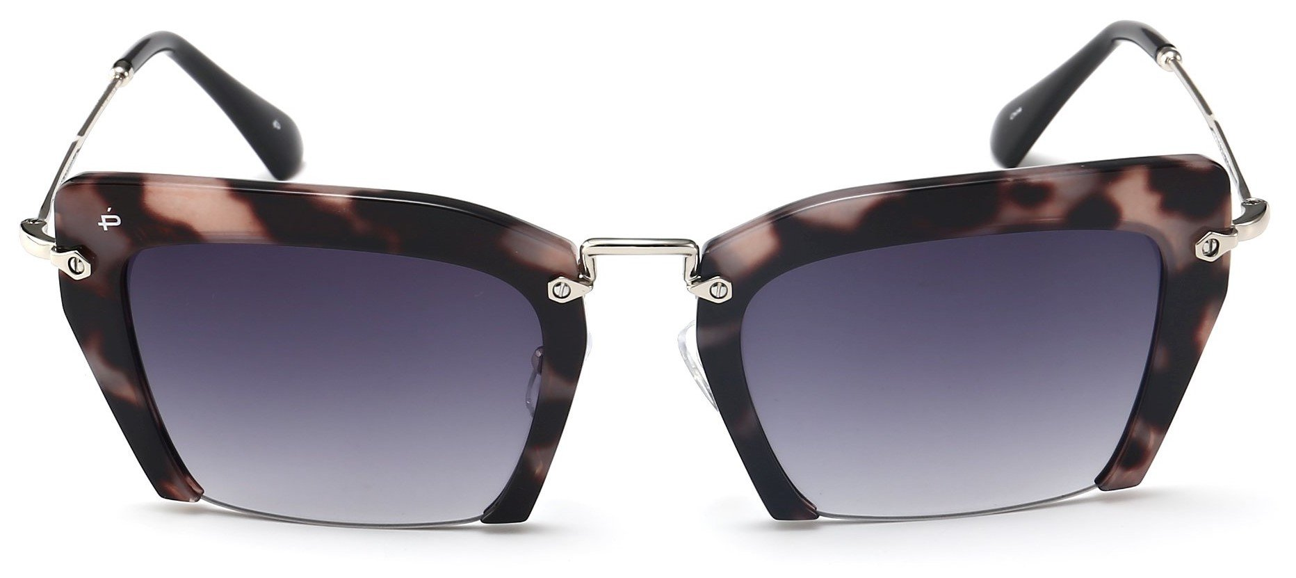 "ویکالا · خرید  اصل اورجینال · خرید از آمازون · PRIVÉ REVAUX ""The Socialite"" Handcrafted Designer Cut Off Sunglasses For Women wekala · ویکالا"