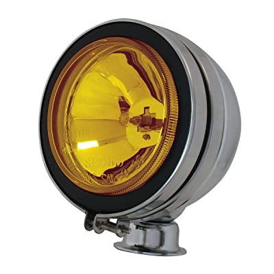 "GG Grand General 80631 Amber Light (5"" Clear Glass with H3 12V/55W Halogen Bulb): Automotive"