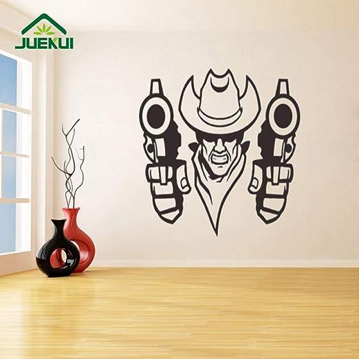 West Cowboy Fondo Moderno Diseño Pegatinas de Pared para la Sala ...