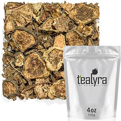 Tealyra - Fresh Pineapple Mint - Pineapple - Cucumber - Lemon - Herbal Fruity Loose Leaf Tea - Caffeine Free - Hot or Iced - 112g (4-ounce)
