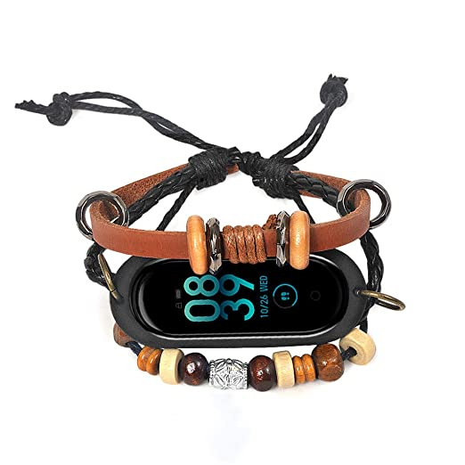 Amazon.com: MChoice❤️Leather Beading Bracelet Strap Weave ...