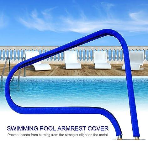 Cubierta para barra de piscina, antideslizante, resistente al barandilla, protección de escalera, cubierta de neopreno suave,