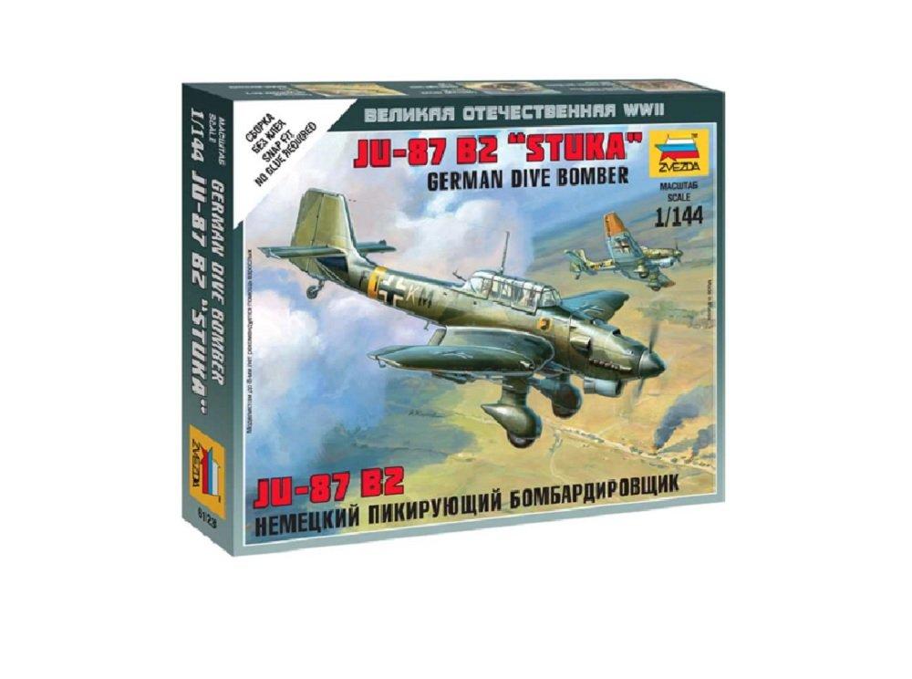 Zvezda Maquette Echelle 1:144 Junkers JU87B Stuka Z6123