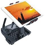 Bestmaple® DJI Mavic Pro 用受信機のタブレット.ホルダー 回転でき 取り外しが便利 延長可 ブラック