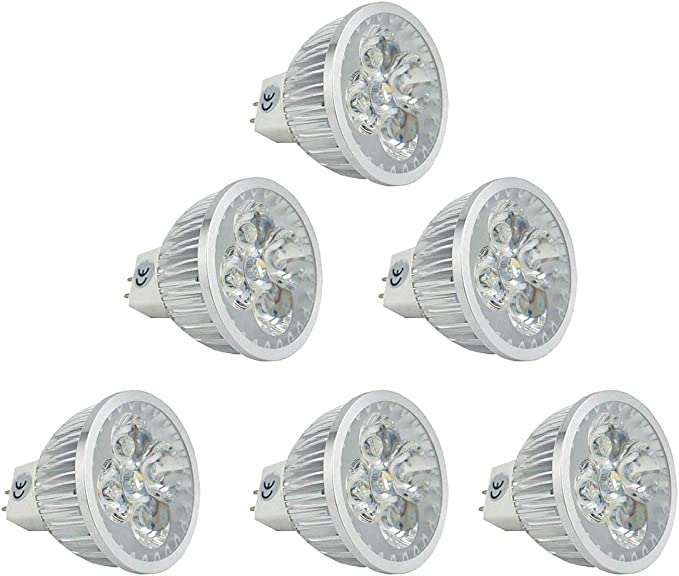 Amazon.com: CTKcom MR16 Bombillas LED 110 V ~ 120 V (6 ...