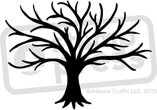 Fingerabdruck Baum Vorlage Diybaumegestaltenbastelneinfachvogelhauseule 4