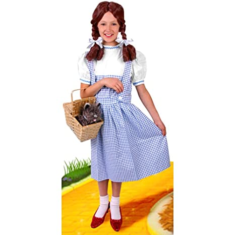 Childu0027s Wizard of Oz Dorothy Costume (Size X-Small ...  sc 1 st  Amazon.com : dorothy costume amazon  - Germanpascual.Com