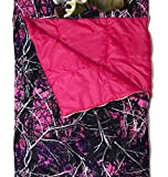 Carstens Muddy Girl Slumber Bag with Deer Pillow