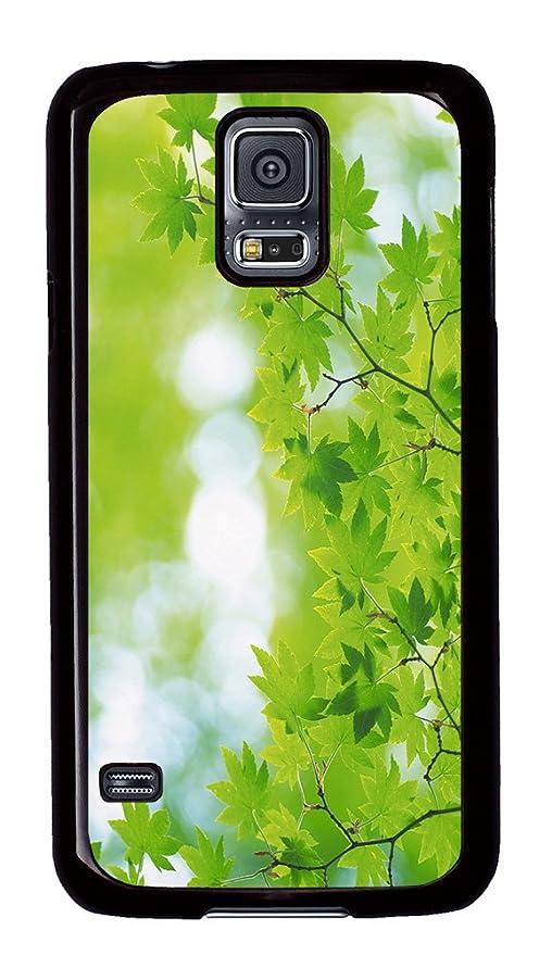 Samsung Galaxy S5 caso - rama con hojas verdes 25 carcasa ...