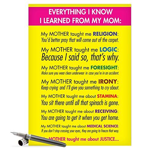 J7208 Jumbo Funny Mothers Card