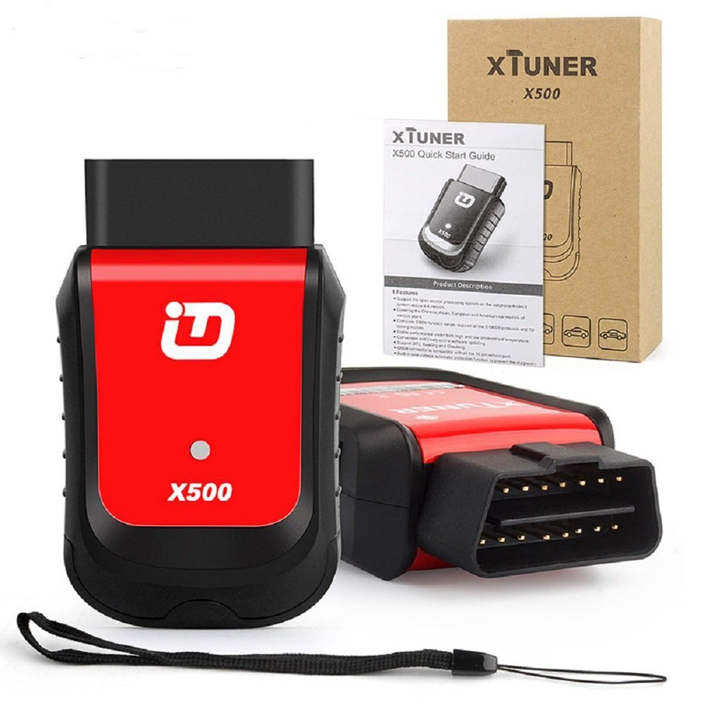 VXDAS Xtuner X500 Auto Scanner Android Bluetooth Diagnostic Scanner Tool Universal Wireless Car Auto Scanner Support Special Functions by VXDAS (Image #6)