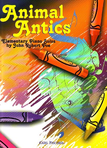 PL1017 - Animal Antics - Elementary Piano - Antics Sheet Animal