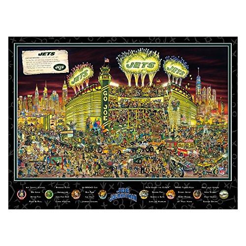 Joe Journeyman NFL New York Jets Jigsaw Puzzle, 500-Piece
