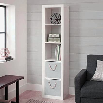 White Corner Shelving Unit Open Cube Shelving Unit Utility Storage  Freestanding Living Room Standing Commercial Furniture Organizer & Ebook By  ...