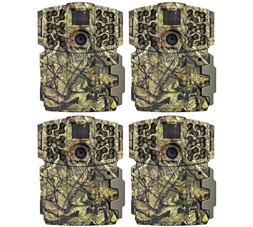 Moultrie (4) No Glow Invisible 20MP Mini 999i Infrared Game Cameras | M-999i