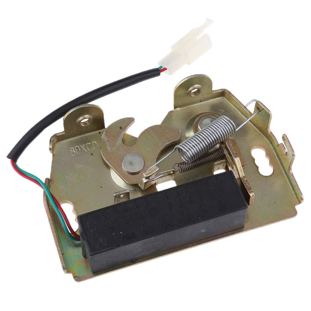 SM SunniMix DC 12V/1A Mini Electric Magnetic Strike Solenoid Lock Latch for Doors Gates Cabinet Drawer