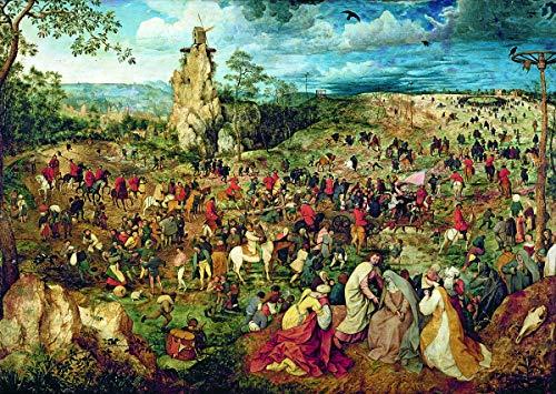 Trefl Brueghel Procession to Calvary 1000 Piece Jigsaw Puzzle