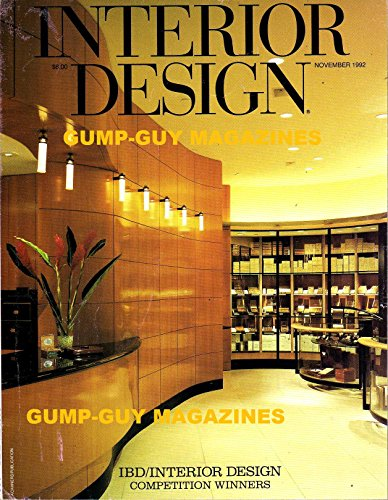 Interior Design November 1992 Magazine COMPETITION WINNERS: DAVIDOFF OF GENEVA SHOP, BEVERLY HILLS, CALIFORNIA Antiques: Desk Accessories By Roslyn Beilly (Pet Jewelry Beverly Hills)