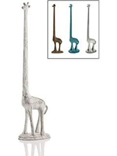 Attractive Paper Towel Holder Or Free Standing Toilet Paper Holder  Cast Iron Giraffe Paper  Holder