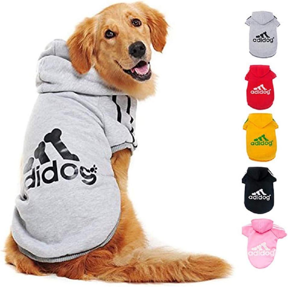 Ducomi Adidog - Sudadera con Capucha para Perros en Algodón Suave