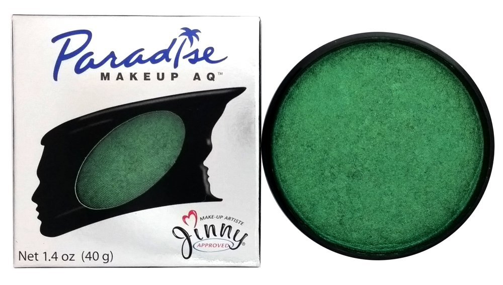 Mehron Paradise Brillant Green - Metallic Face and Body Paint Pro Size 1.4 Oz by Mehron