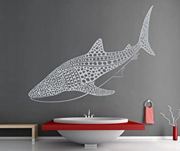 Great Vinyl Wall Decal Sticker Whale Shark OS_ES109s Part 17