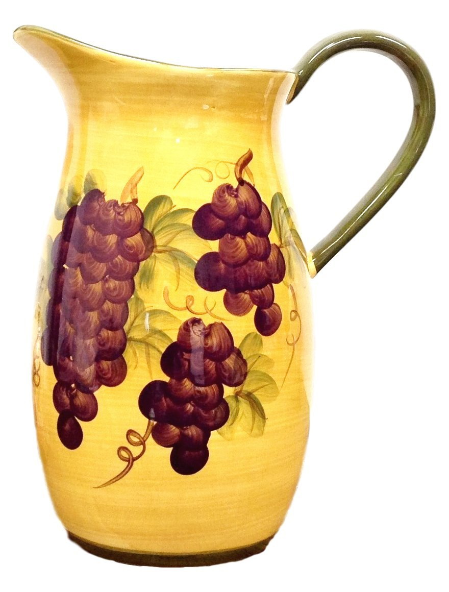 Tuscany Grape Pitcher