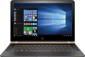HP Spectre 13-V111DX 13.3in FHD IPS Laptop - Intel Core i7-7500U, 256GB SSD, 8GB DDR3L, Windows 10 - Black/Copper (Renewed)