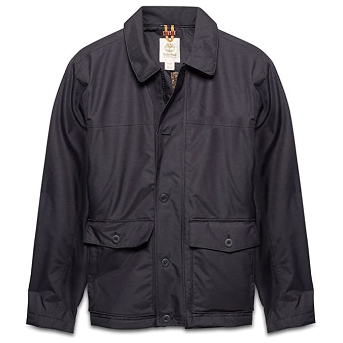 Timberland Men's Jacket ROLLINS MOUNTAIN Size M Black, Men