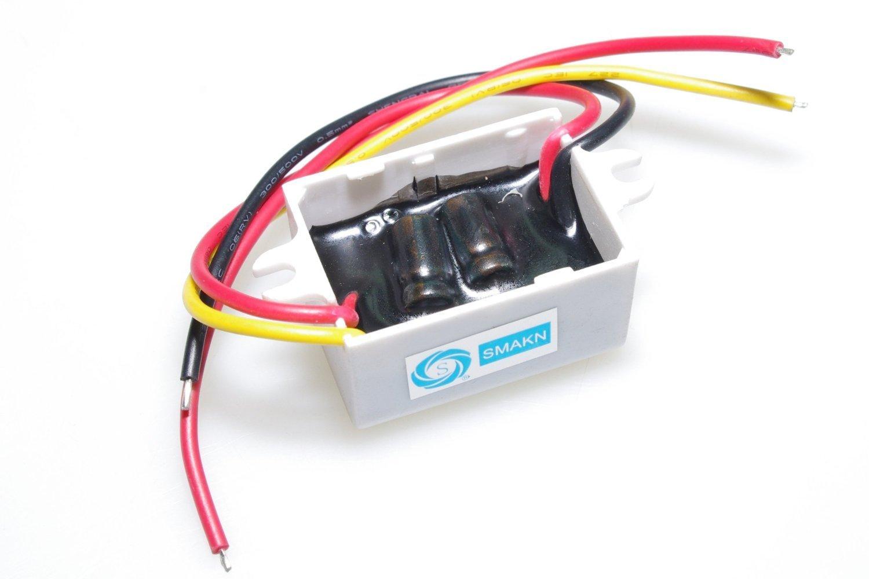 SMAKN/® DC//DC Converter 12v Step Down to DC 3V//3A 3V 3A 9W Power Supply Module 4350283116