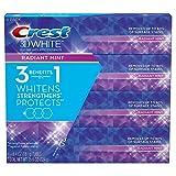 Crest 3D White Toothpaste, Radiant Mint (6.4 oz., 4 pk.)