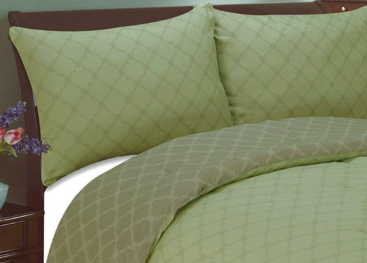 Natural Comfort Luxury Lines Microfiber Reversible Comforter Set, King, Arizona Sand Natural Comfort Int. MC120YE-K