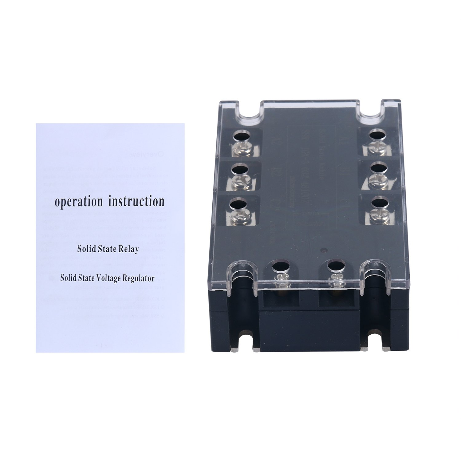 Three Phase Solid State Controller 100A 3-32VDC Input / 480VAC Output