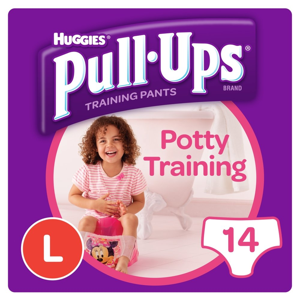 Huggies Pull Ups Day Time Potty Size Training Pants Girls, 16 to 23 kg, Large Kimberly-Clark Ltd 109160892