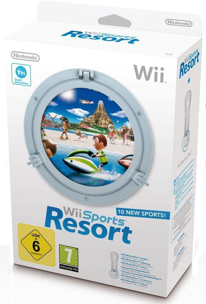 Wii Sports Resort + Wii MotionPlus [Importación francesa]: Amazon.es: Videojuegos
