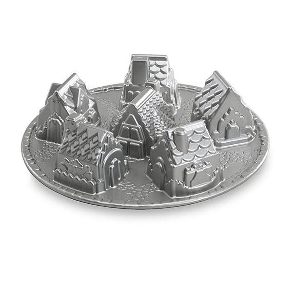 NordicWare 81.948 Pastel Diseño de moldes de aluminio fundido Cozy Village: Amazon.es: Hogar