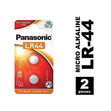 Amazon.com: Panasonic LR44 1.5 V, pilas (2 unidades): Home ...