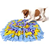 AK KYC Snuffle Mat for Dogs, Dog Feeding Mat, Dog Puzzle Enrichment Toys, Nosework Slow Feeding Training, Encourages…