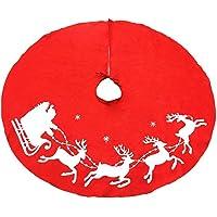 Aiming 100cm no Tejidas Ciervos de Navidad Falda