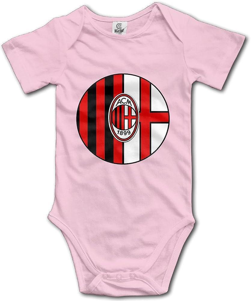 Amazon Com Immazm Milan Ac Football Team Logo Baby Climbing Clothes Bodysuit Books