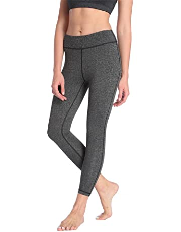 e8ea845842 Dragon Fit Compression Yoga Pants Power Stretch Workout Leggings with High  Waist Tummy Control